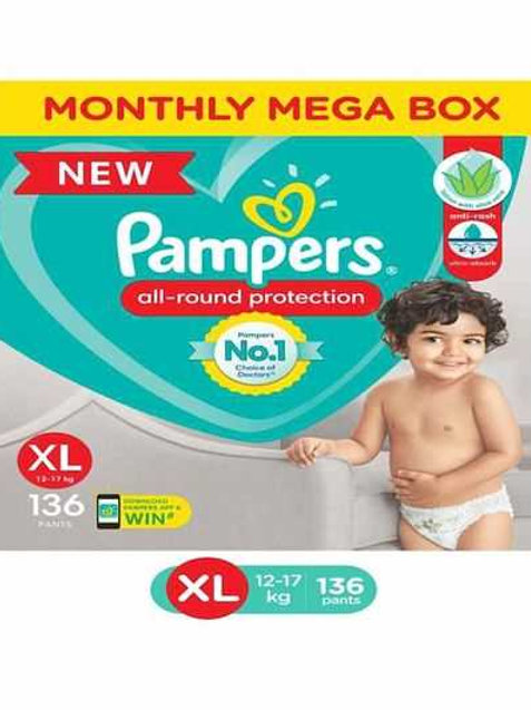 Pampers Pants Xl34
