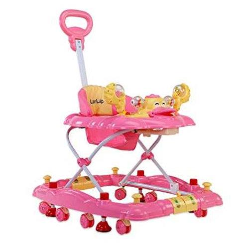 Luvlap Baby Walker Pink