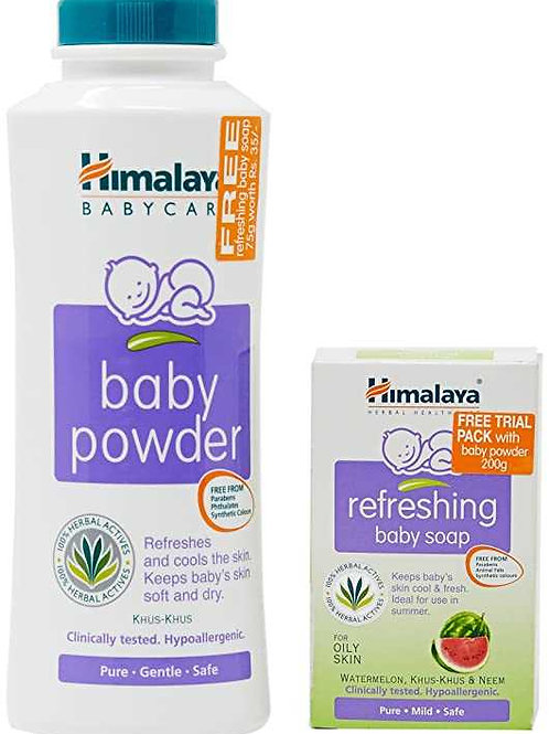 Baby Powder200+Ref Soap