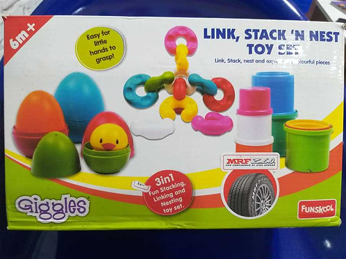 Pull Stack Nest Toy Set