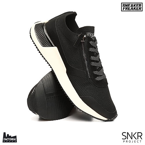SNKR PROJECT SNEAKER - RODEO 2.0 (BLACK/WHITE)
