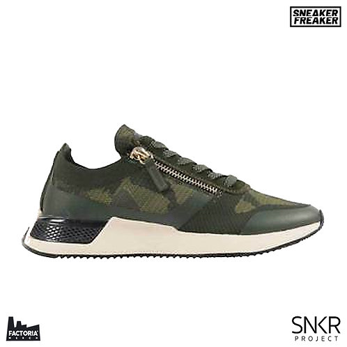 SNKR PROJECT SNEAKER - RODEO 2.0 (OLIVE CAMO)