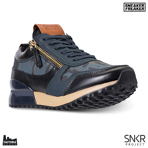 SNKR PROJECT SNEAKER - RODEO (BLUE/BLACK CAMO)