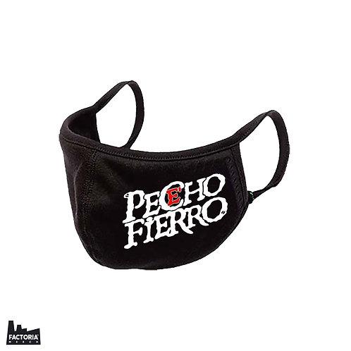 PECHOE' FIERRO TAPABOCA LOGO