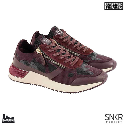 SNKR PROJECT SNEAKER - RODEO 2.0 (WINE CAMO)