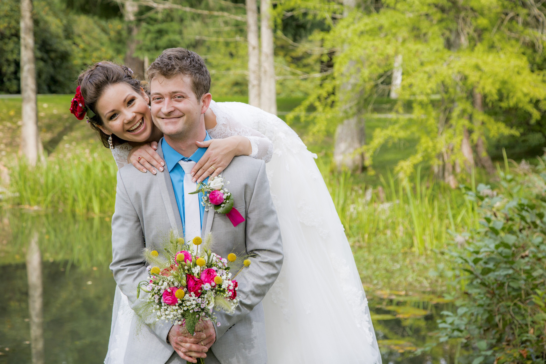 Anja in David Nekaj je bilo v zraku... iskrice, ljubezen, sreča in nagajivost, vsekakor pa tudi (pre