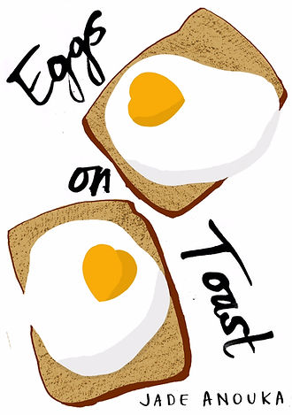 Jade Anouka Poetry book Eggs On Toast