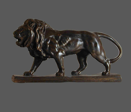 Lion walking | Antoine-Louis Barye 19th century
