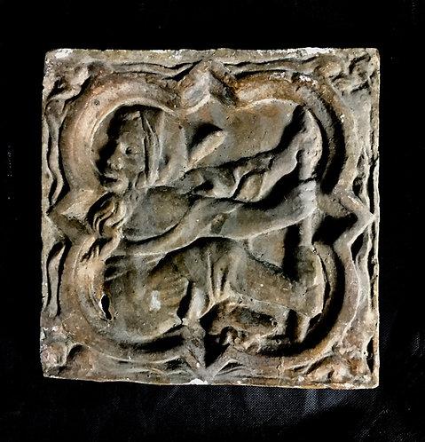 Quadrilobe Le jeu de Panoye | XIVe siècle | Cathédrale