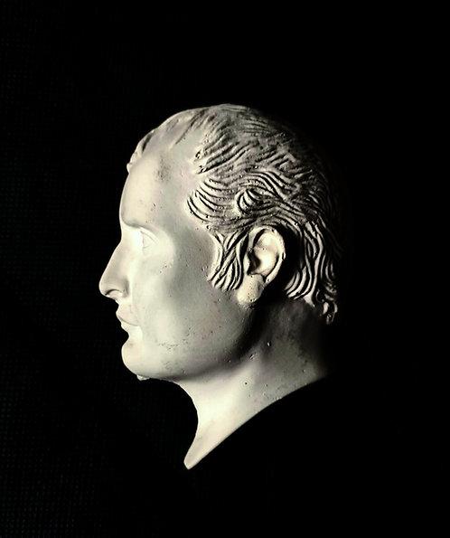 Napoleon de profil - bas-relief