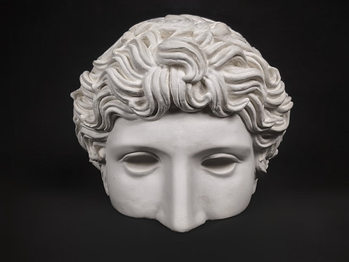 Athlète de Benevent - demi tête | Ve siècle avant J-C | Musée du Louvre