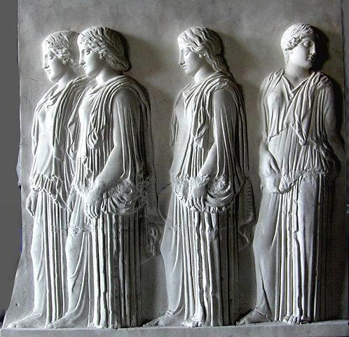 Procession des Panathenées, Ergastines