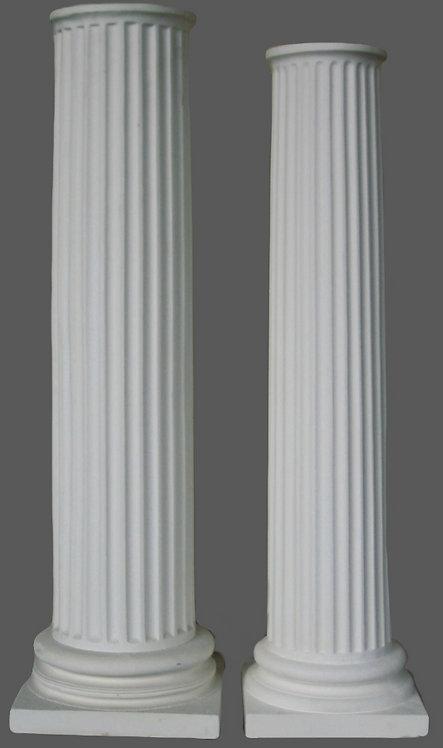 Colonnes cannelées