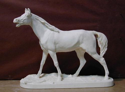 English horse walking | Pierre-Jules Mene