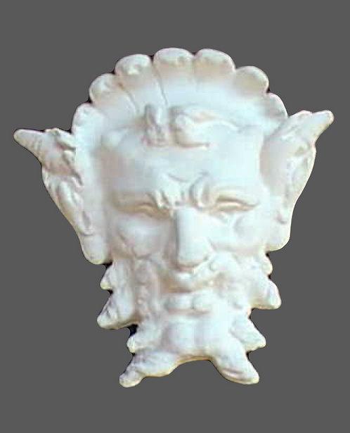 Satyre masque stylisé