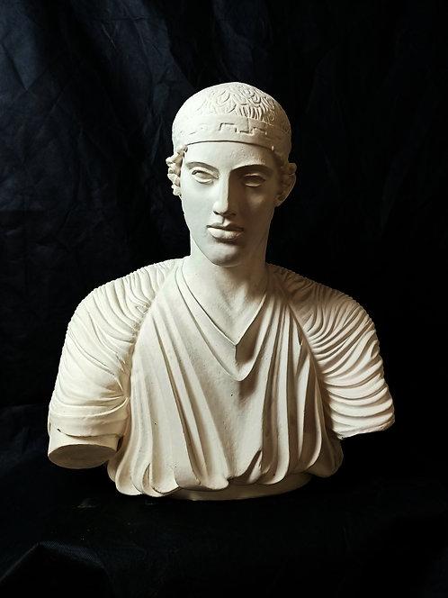 Buste Aurige de Delphes | Ve siècle avant J-C | Delphes