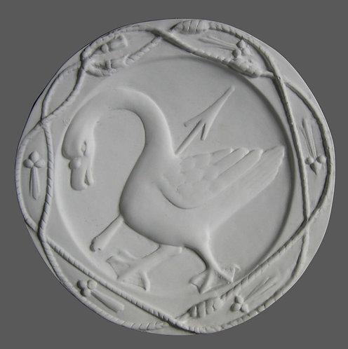Rosace | Oie d'Anne de Bretagne | Château de Blois
