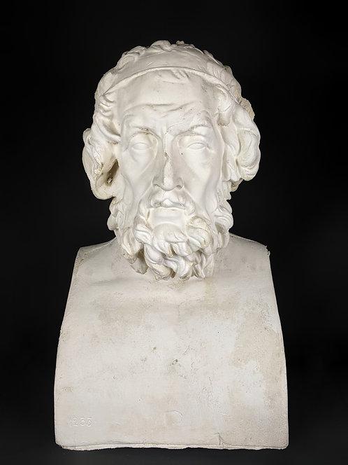 Homère | IIe siècle avant J-C | Musée du Louvre