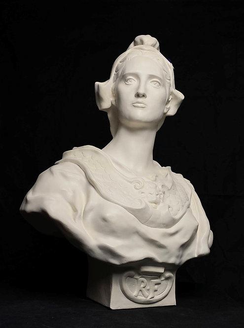Buste de République   Injalbert