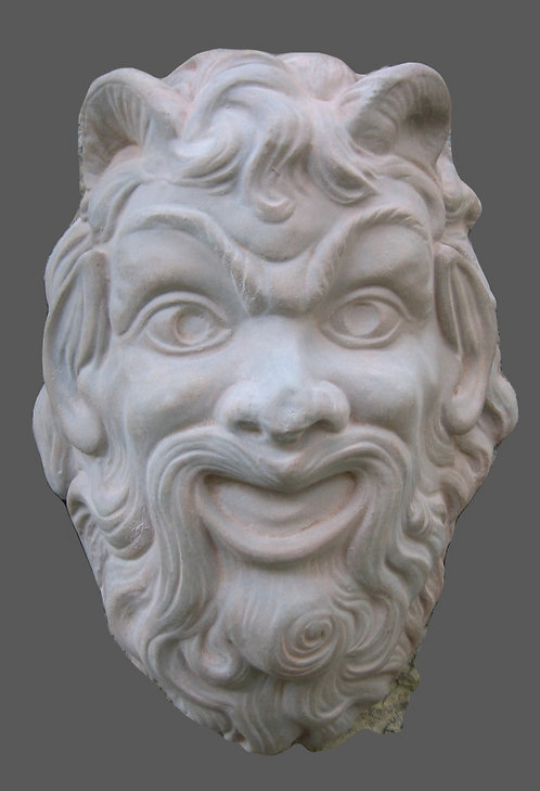 Masque de satyre pompéien