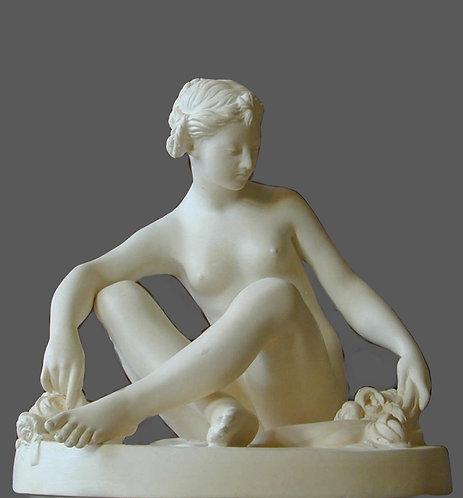 Femme à la rose | Falconet