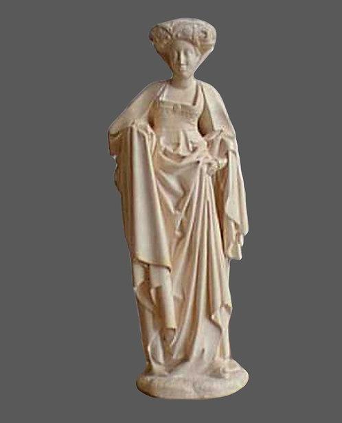 Sibylle coiffée d'un bonnet | Eglise de Brou
