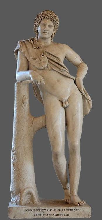 Faune au repos | Praxitèle | IVe siècle avant J-C | Capitole Rome