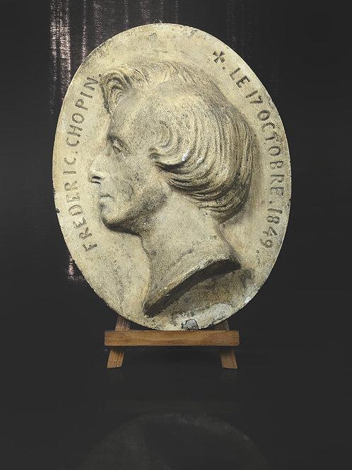 Frederic Chopin - Médaillon par Clessinger