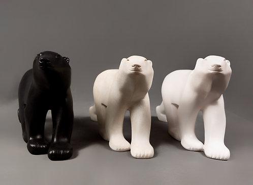 Ours blanc - modèle moyen | Pompon