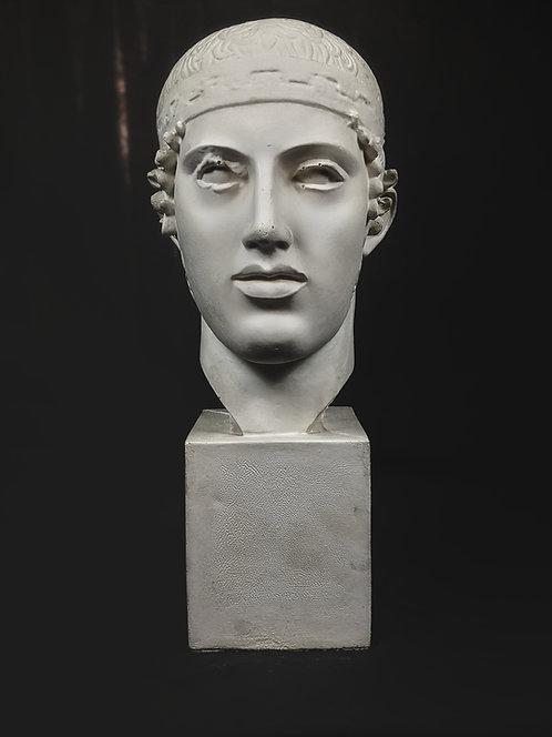 Aurige de Delphes - Tête | Ve siècle avant J-C | Delphes
