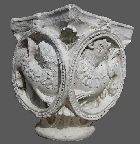 Chapiteau aux lions | XI ème siècle