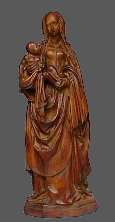 Vierge à l'enfant | Atelier Champenois | Musée de Troyes