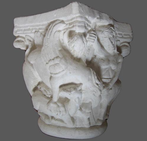 Chapiteau à la chimère (Demi) | XI ème siècle