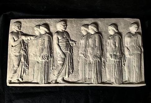 Procession des Panathenées, Ergastines (Réduction)| Musée du Louvre