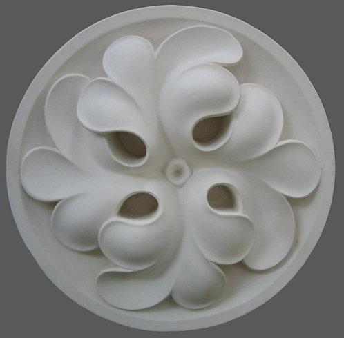 Rosace | Quatrefeuille de trèfle en spirale | XIVe siècle