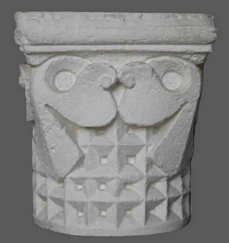 Chapiteau à décor géométrique | XIIe siècle