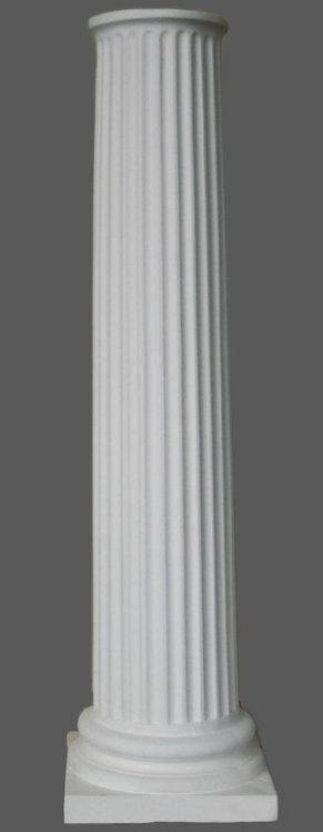 Colonne cannelée