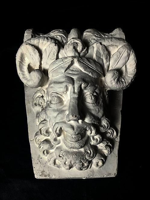 Mascaron Tête de Faune - Clef de voute - Musée Carnavalet
