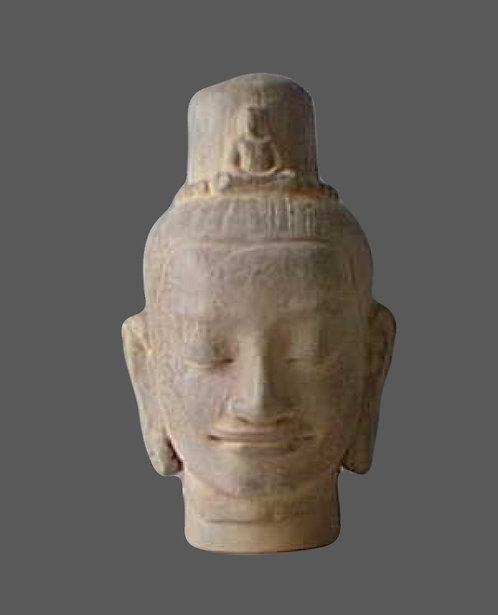 Lokeçvara tête de bouddha | Musée Guimet