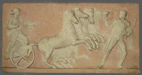 Quadrige Eos conduisant son char | Ier siècle avant J-C | Musée de Lisbonne
