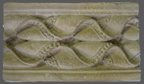 Galon perle et onde | Fragment de Pilastre | Charlieu