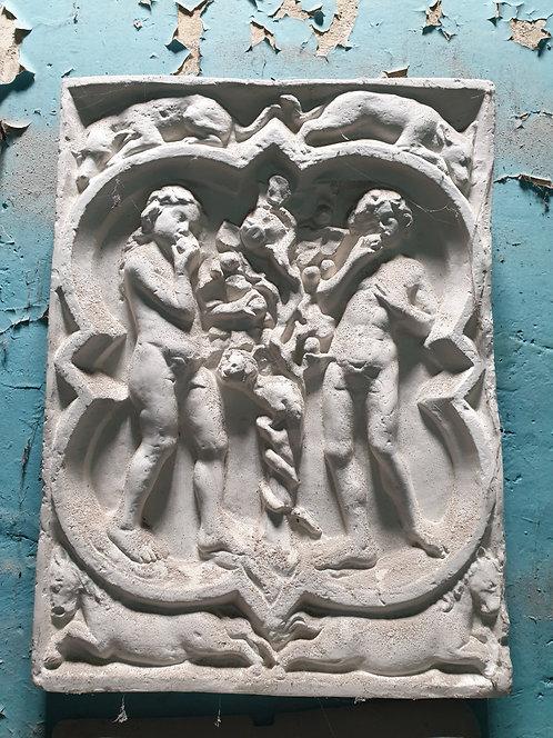 Quadrilobe La Genèse   XIVe siècle   Cathédrale de Rouen