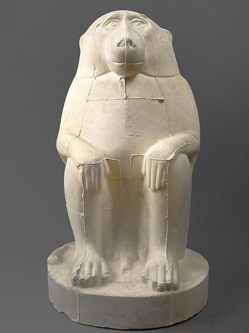 Dieu Thot en Cynocéphale assis | Musée du Louvre