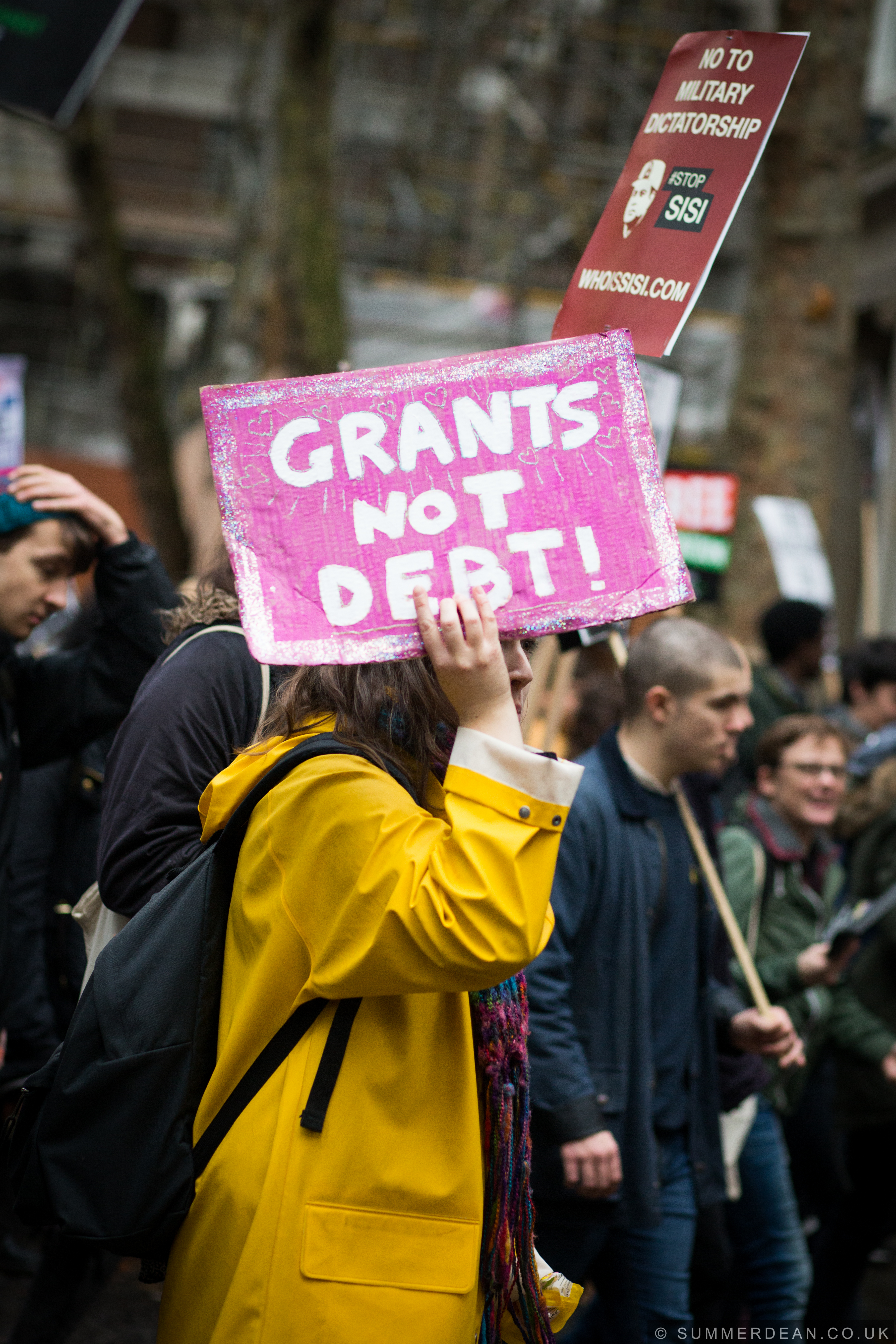 #grantsnotdebt #nov4 National Demo, 2015