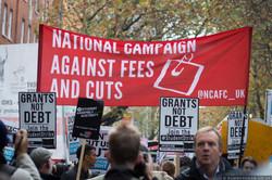 #grantsnotdebt #nov4 National Demo, 2015