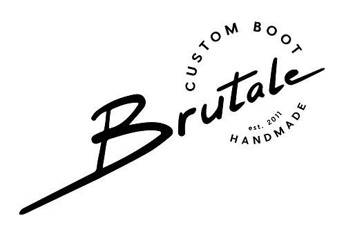 Custom Brutale Boot Only