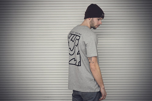 Adapt Handmade T-shirt Grey or Olive