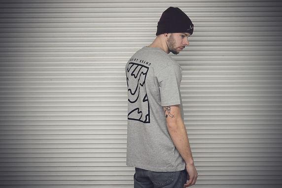 Adapt Handmade T-shirt Grey or Olive
