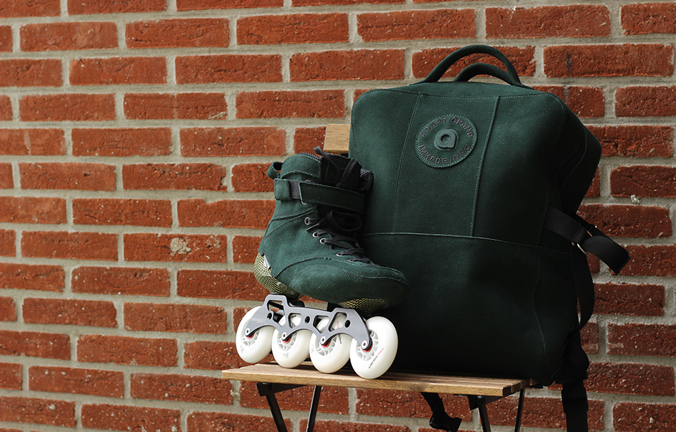 Hyperskates: Army Green Nubuck