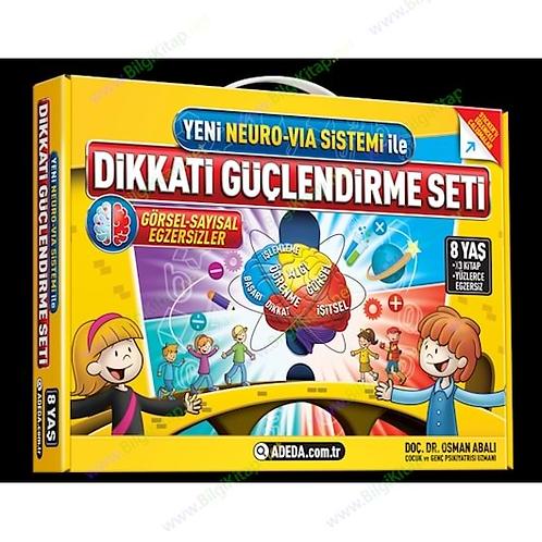 Dikkati Güçlendirme Seti (8 Yaş) - Osman Abalı - Adeda Yayınları